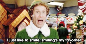 When I smile in public (a serious faux pas around here)